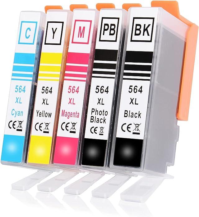 Updated 2021 – Top 10 Hp Photosmart 5510 Printer Uses 564 Ink