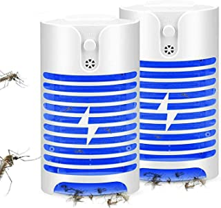 Eleadsouq Mosquito Killer Lamp Repellent UV Light Ultrasonic Pest Insect Repellent Plug in Indoor Electronic Bug Pest Cont...