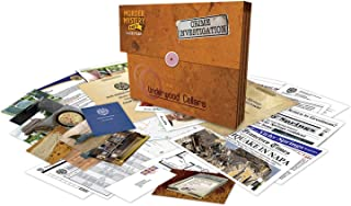 University Games Murder Mystery Party Case Files: Underwood Cellars Unsolved Mystery Detective Case File Game for 1 or Mor...