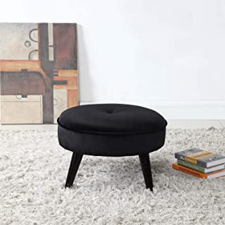 Best black velvet footstool Reviews