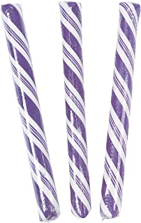 individually wrapped purple candy