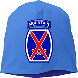 CRISCAP 10th Mountain Division Helmet Liner Thin Skull Cap Beanie Hip Hop Cap
