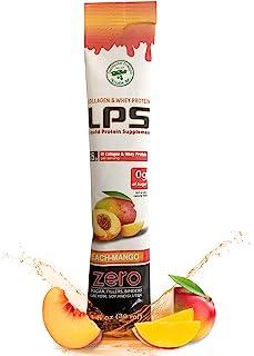 LPS Liquid Collagen & Whey Protein Supplement - Non-GMO Drink, Sugar-Free - Promotes Healthy Skin & Hair for Men & Women, ...