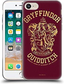 Head Case Designs Offiziell Zugelassen Harry Potter Gryffindor Quidditch Deathly Hallows X Soft Gel Handyhülle Hülle Huelle kompatibel mit Apple iPhone 7 / iPhone 8 / iPhone SE 2020