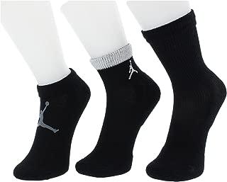 Jordan 3 Pack Mesh Waterfall Socks - Boys' Size 5Y-7Y