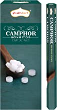 Shubhkart Camphor Incense Sticks - (Pack of 6 Tubes Inside The Box) 120 Sticks (Camphor)