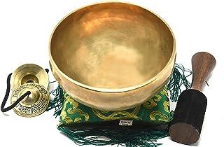 "7"" Tibetan Singing Bowl ~ Superb B Crown Chakra Bowl for Meditation, Yoga, Healing, Mindfulness, Relaxation & Sound Therap..."