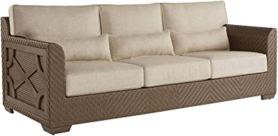 Amazon.com : Best Choice Products Outdoor Wicker Sofa, All ...