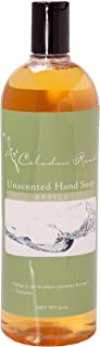 Celadon Road Unscented Foaming Hand Soap - Refill Size- Organic Ingredients - Sulfate and Paraben Free - Best All Natural Soap - 32oz