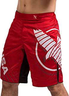 Chikara 4 Fight Shorts for Men MMA Combat Sports Kickboxing Jiu Jitsu BJJ