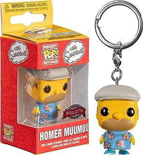 Funko Pocket Pop! Keychain Simpsons: Homer Muumuu Exclusive, Action Figure - 47557