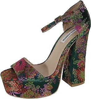 Steve Madden Womens Bonita Heels Platform Sandals