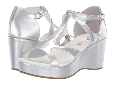 Amiana 15-A5560 (Little Kid/Big Kid/Adult) (Silver Mirror Patent) Girl