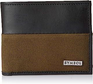 Amazon Brand - Symbol Men's RFID Protected Bi-fold 100% Genuine Leather Wallet