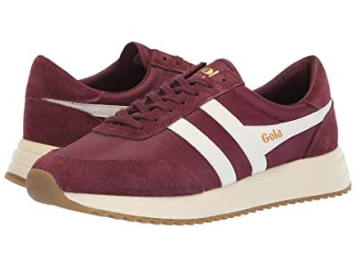 Gola Montreal (Burgundy/Off-White) Women