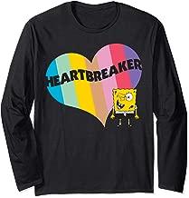 Spongebob Squarepants Spongebob Heart Long Sleeve T-Shirt