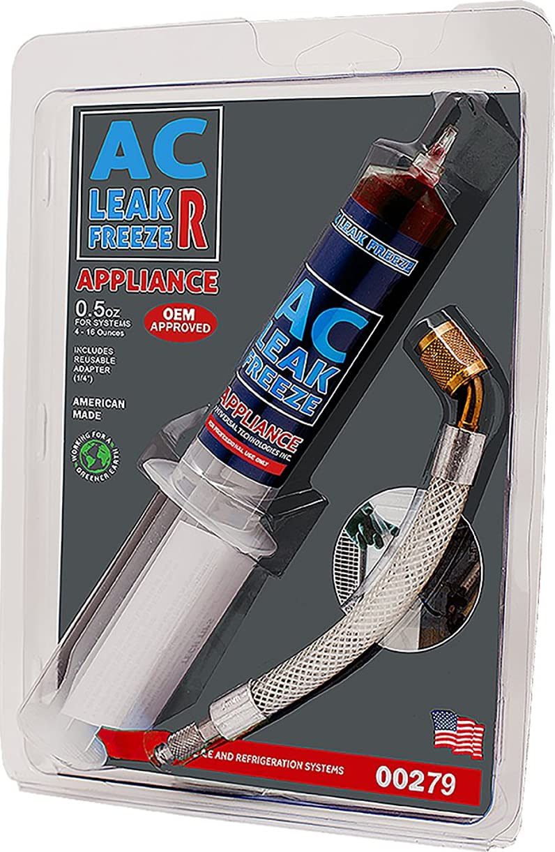 Rectorseal 45302 AC Leak Freeze R, 0.5 Oz, Red yyvfz9982