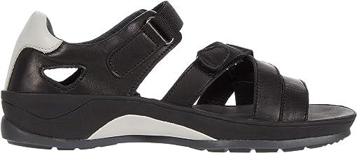 Black Vegi Leather