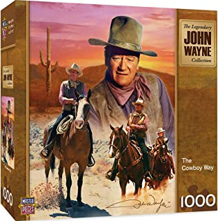 MasterPieces John Wayne America's Cowboy Jigsaw Puzzle, 1000-Piece