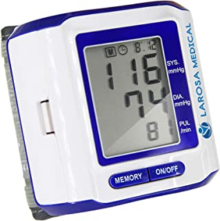 LAROSA MEDICAL Automatic Blood Pressure Monitor - Readings Memory Function & Large LCD Display - Fast