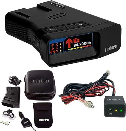 Uniden R7 Long Range Radar Detector with Arrow Alert and Hardwire Kit Bundle