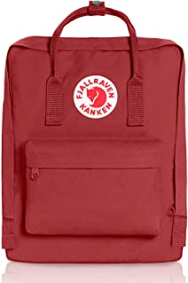 Kanken Classic Backpack for Everyday (Deep Red)