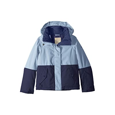 Roxy Kids Roxy Jetty Block Jacket (Big Kids) (Powder Blue) Girl