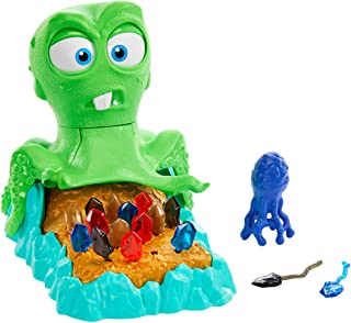 Mattel Games Inky's Fortune Kid's Game with Octopus, Gems and Ink Blob, Gift for Children 5 Years Old & Up [Amazon Exclusive]