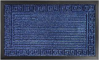 Gorilla Grip Durable Natural Rubber Door Mat, Waterproof, Low Profile, Heavy Duty Welcome Doormat for Indoor Outdoor, Easy...