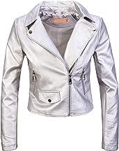 Página web oficial zapatos para baratas comprar lujo chaqueta cuero plateada br8638652 - breakfreeweb.com