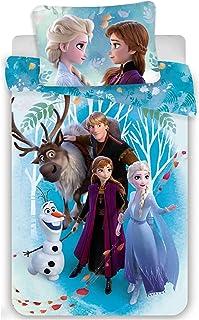 Disney Frozen Dekbedovertrek - Eenpersoons - 140 x 200 cm - Katoen