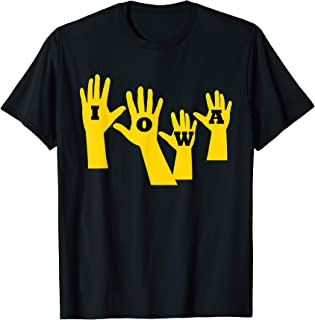 Iowa Football Iowa Waves T-Shirt