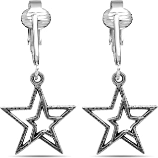 american flag beaded earrings