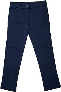 Girls Navy School Uniform Stretch Twill Skinny Pant