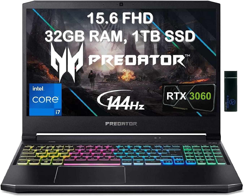 2021 Acer Flagship Predator Helios 300 Gaming Laptop 15.6