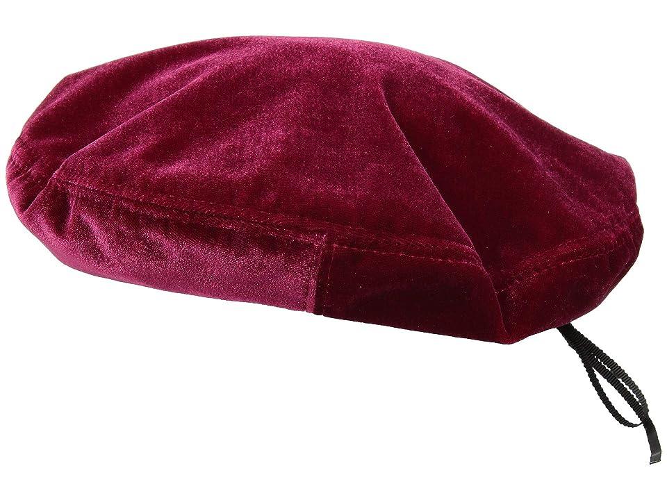 1920s Style Hats Betmar Gracella Bordeaux Caps $35.00 AT vintagedancer.com
