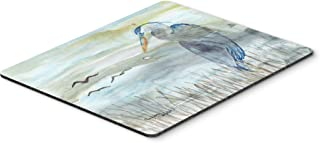 Caroline's Treasures SC2007MP Blue Heron Watercolor Mouse Pad, Hot Pad or Trivet, Large, Multicolor