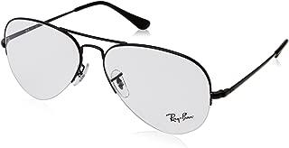 Ray-Ban Unisex RX6589 Eyeglasses Black 56mm