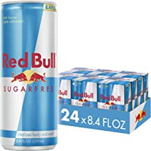 Red Bull Energy Drink Sugar Free, Sugarfree, 8.4 Fl Oz (24 Count)