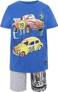 Tuc Tuc Camiseta Punto+Bermuda Felpa Niño Super Trademark Conjunto de Ropa para Niños
