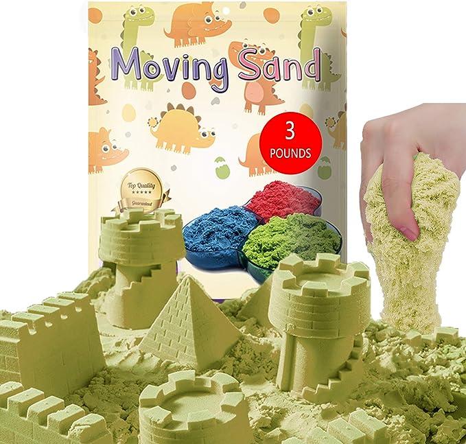 258 opinioni per CROSOFMI Sabbia Cinetica per Bambini Magica Colorata Modellabile Sand Giochi per