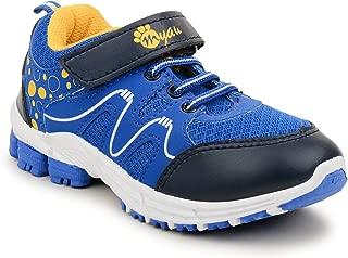 MYAU Boy's Girl's Printed Velcro Closure Running Sports Shoes