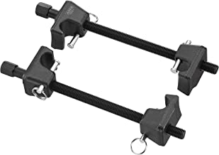 ARES 70371 - Macpherson Strut Spring Compressor - Repair Bent Struts, Strut Tubes, and Damaged Struts - Drop Forged Jaws with Safety Pins for Safe and Easy Compression