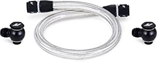 Mishimoto MMSBH-RX8-04 Primary Replacement Oil Line Compatible With Mazda RX-8 2004-2011 Silver
