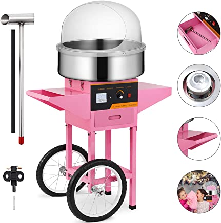 Homemade Cotton Candy for Kids Hard /& Sugar-Free Candy Floss Machine ANTEHOME ZHM7003 Cotton Candy Maker Retro Style
