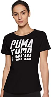 Puma Font Graphic Tee Shirt For Women