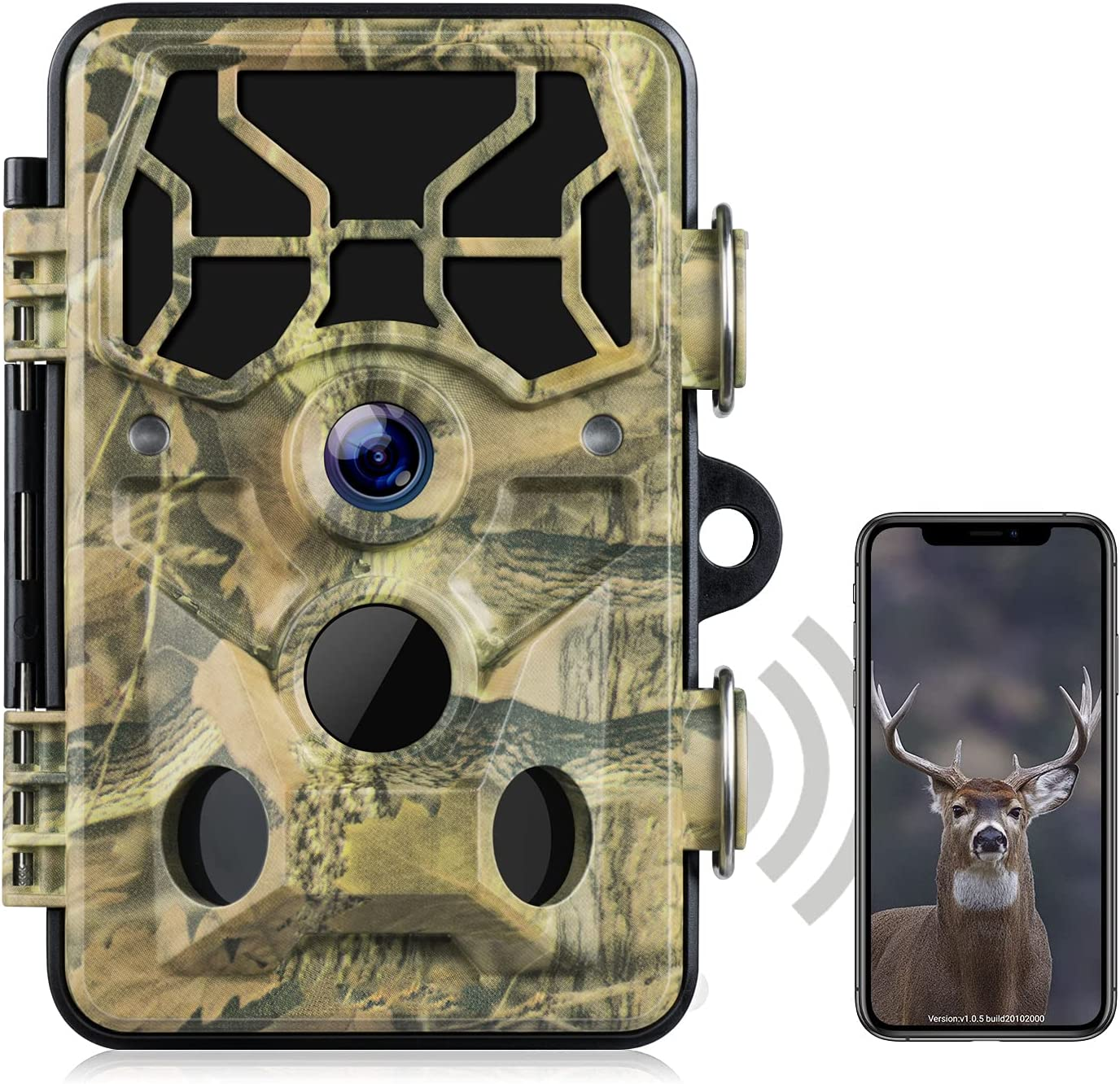 CAMPARKCAM Now free shipping WiFi OFFicial store Trail Camera-Bluetooth 1296P Game Hunting C 20MP