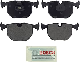 Bosch BE683 Blue Disc Brake Pad Set for Select BMW 330Ci, 330i, 330xi, 525i, 525xi, 740i, 740iL, 750iL, M3, M5, X3, X5, Z4, Z8; Land Rover Range Rover - REAR