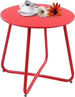 Best metal garden side table Reviews