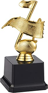 Juvale Award Trophies - Plastic Gold Trophy Cups for Tournaments, Competitions, Parties